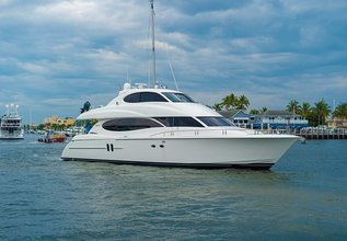 Ennui Go Charter Yacht at Fort Lauderdale Boat Show 2019 (FLIBS)