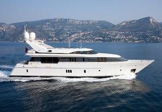 La Mascarade Charter Yacht at MYBA Charter Show 2016