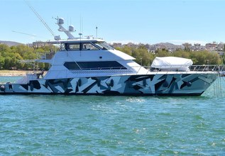 Wild Child Charter Yacht at Palm Beach Boat Show 2019