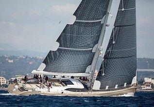 Karibu Charter Yacht at Loro Piana Superyacht Regatta 2014