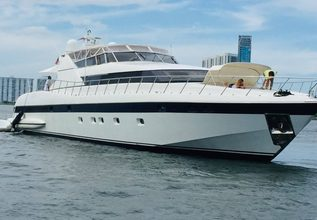 Xoxo Charter Yacht at Fort Lauderdale Boat Show 2015