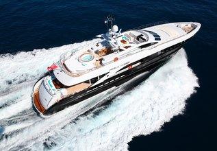 Perle Noire Charter Yacht at Monaco Yacht Show 2017