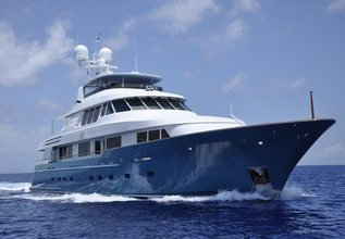 Fore Aces Charter Yacht at Fort Lauderdale Boat Show 2015