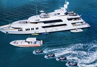 Ocean Club Charter Yacht at Palm Beach Boat Show 2016