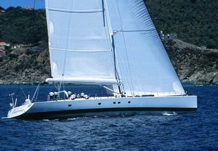Visione Charter Yacht at The Superyacht Challenge, Antigua 2013