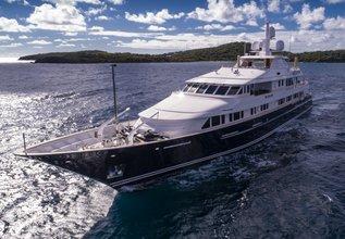 Broadwater Charter Yacht at Monaco Yacht Show 2015