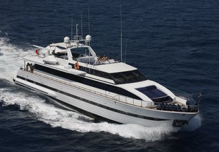 Queen South Charter Yacht at MIPIM 2014