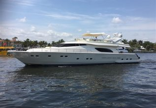 Miss Direction Charter Yacht at Fort Lauderdale Boat Show 2017