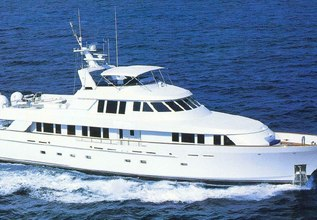 Chanson Charter Yacht at Palm Beach Boat Show 2014