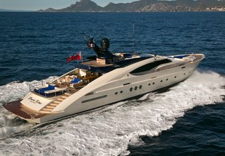 Plus Too Charter Yacht at MYBA Charter Show 2015