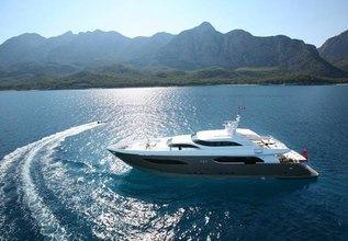 Namaste 8 Charter Yacht at Monaco Yacht Show 2013