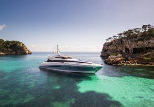 Benita Blue Charter Yacht at MYBA Charter Show 2017