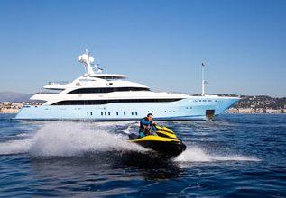 Vertigo Charter Yacht at MYBA Charter Show 2013