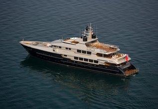 Odessa Charter Yacht at Monaco Grand Prix 2016