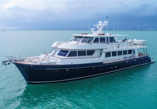 Cocori III Charter Yacht at Miami Yacht Show 2020