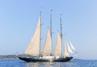 Sir Winston Churchill Charter Yacht at East Med Yacht Show 2014