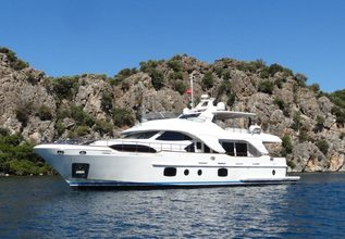 Rebecca V Charter Yacht at Mediterranean Yacht Show 2017