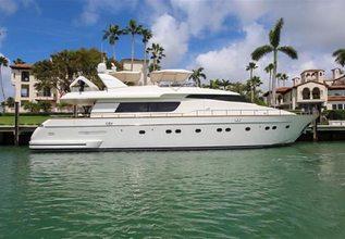 Sanlorenzo 82 Charter Yacht at Miami Yacht Show 2020