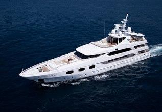 Eleni Charter Yacht at Monaco Grand Prix 2014
