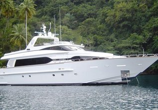 My Destiny Charter Yacht at Palm Beach Boat Show 2014