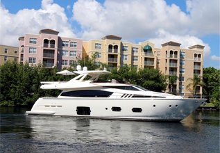 Evolution Charter Yacht at Palm Beach Boat Show 2019