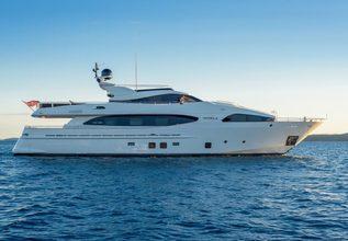 Novela Charter Yacht at MYBA Pop-Up Superyacht Show 2016