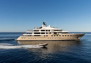 Here Comes The Sun Charter Yacht at Monaco Grand Prix Yacht Charter
