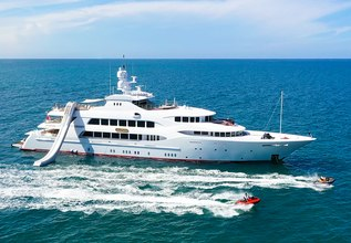 Mia Elise II Charter Yacht at Fort Lauderdale Boat Show 2015