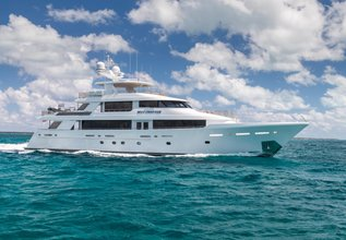 Arms Reach Charter Yacht at Miami Yacht Show 2020