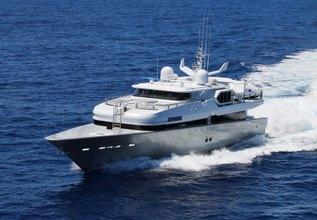 Azura Charter Yacht at Fort Lauderdale Boat Show 2014