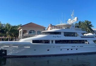 Lady Pegasus Charter Yacht at Fort Lauderdale International Boat Show (FLIBS) 2021