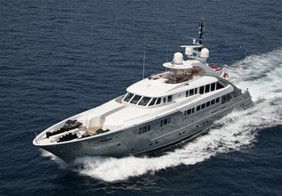Lady MM Charter Yacht at Monaco Yacht Show 2014