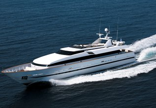 Obsesion Charter Yacht at East Med Yacht Show 2013