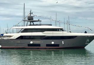 Ocean Z Charter Yacht at The Superyacht Show 2019
