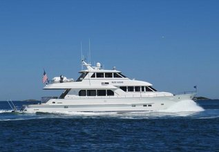Moonshot Charter Yacht at Palm Beach Boat Show 2019