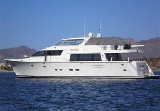 Foxy Lady Charter Yacht at Fort Lauderdale Boat Show 2015