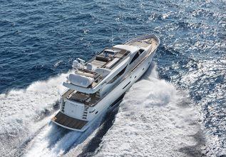 Aimilia Charter Yacht at Mediterranean Yacht Show 2017