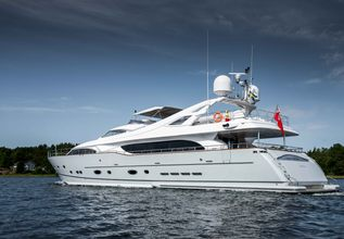 Queen of Sheba Charter Yacht at The Superyacht Show 2019