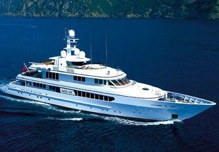 Gitana Charter Yacht at Palm Beach Boat Show 2019