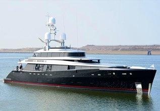 Kiss Charter Yacht at Monaco Yacht Show 2015