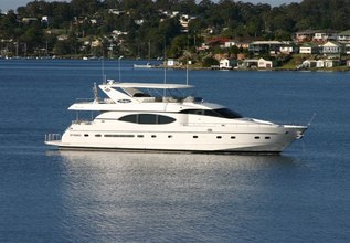Mystique Charter Yacht at Yachts Miami Beach 2017