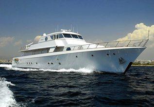 Xiphias Charter Yacht at Mediterranean Yacht Show 2015