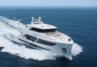 Aqua Life Charter Yacht at Fort Lauderdale Boat Show 2019 (FLIBS)