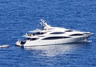 Anastasia K Charter Yacht at Monaco Yacht Show 2014