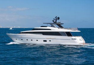 Johann Charter Yacht at Fort Lauderdale Boat Show 2015