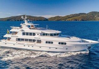 Magic Charter Yacht at Antigua Charter Yacht Show 2018