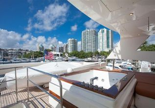 Aicon Charter Yacht at Palm Beach Boat Show 2019