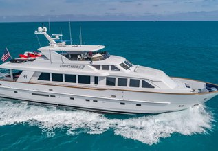 Inevitable Charter Yacht at Miami Yacht Show 2018