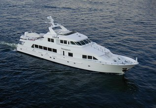 Tranquility Charter Yacht at Fort Lauderdale International Boat Show (FLIBS) 2020- Attending Yachts