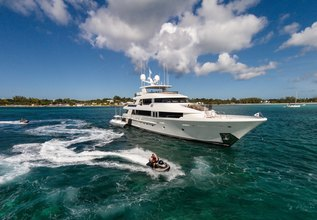 Amicitia Charter Yacht at Miami Yacht Show 2020